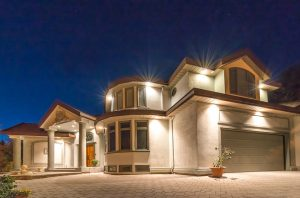 Showing your house at Night